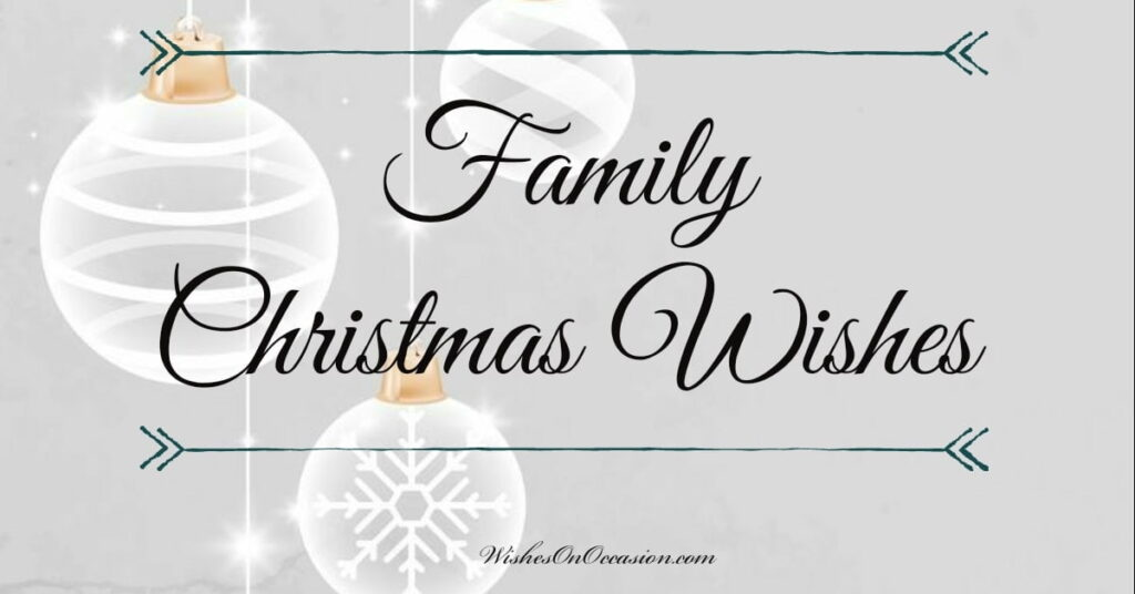 get quotes and wish your family a happy christmas