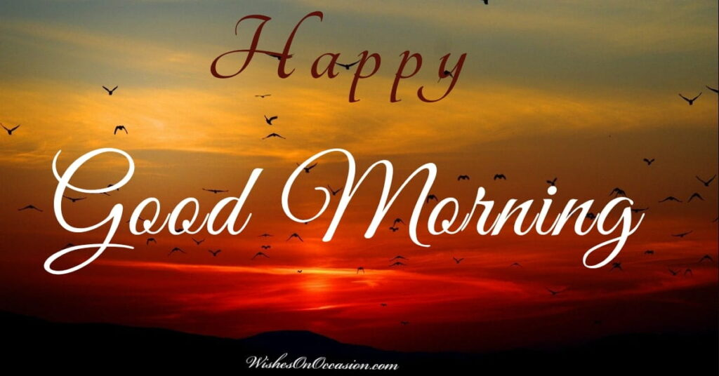 This image contains text about good morning wishes and messages