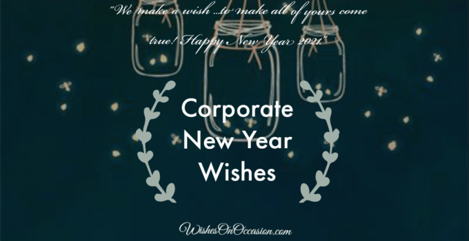 corporate new year wishes