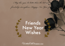 friends new year wishes