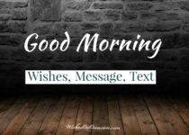 good morning messages wishes and text