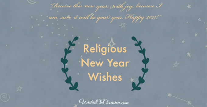 religious new year wishes