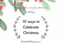 this image contain text about ways to celebrate christmas
